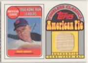 2001 Topps American Pie Timeless Classics Relics #BBTC19 Frank Howard 69 Bat