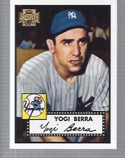 2001 Topps Archives #2 Yogi Berra 52