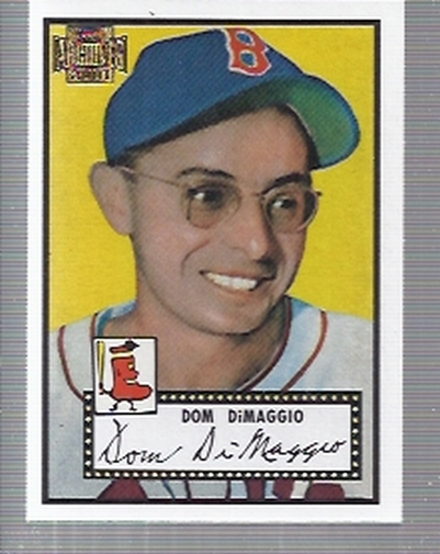 2001 Topps Archives #3 Dom DiMaggio 52