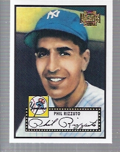 2001 Topps Archives #12 Phil Rizzuto 52