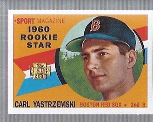 2001 Topps Archives #36 Carl Yastrzemski 60