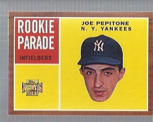 2001 Topps Archives #41 Joe Pepitone 62