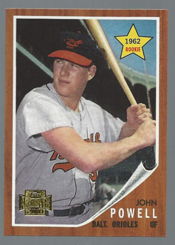 2001 Topps Archives #42 Boog Powell 62