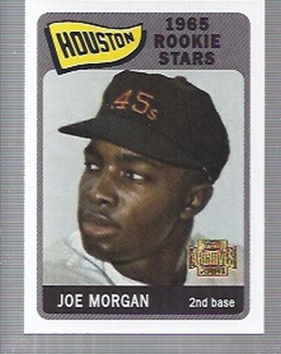 2001 Topps Archives #51 Joe Morgan 65