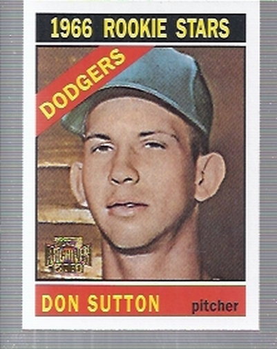 2001 Topps Archives #54 Don Sutton 66