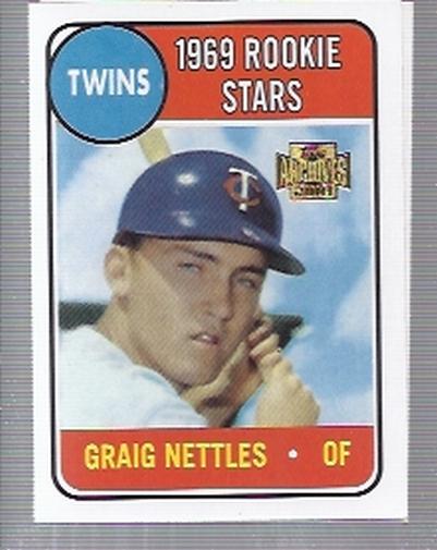 2001 Topps Archives #60 Graig Nettles 69