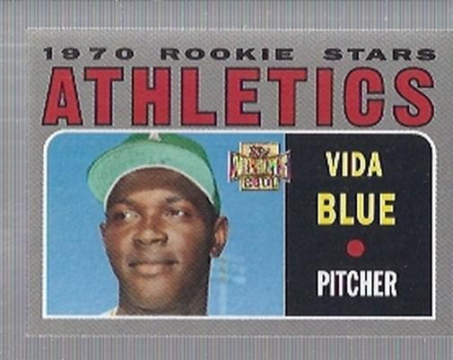 2001 Topps Archives #62 Vida Blue 70