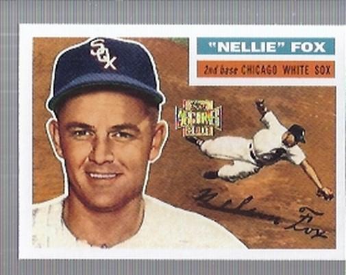 2001 Topps Archives #95 Nellie Fox 56