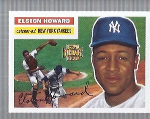 2001 Topps Archives #96 Elston Howard 56