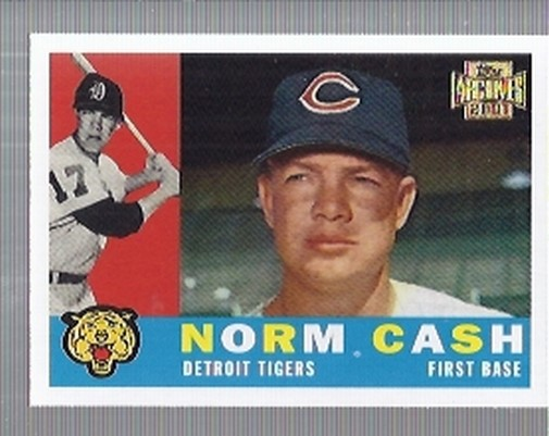 2001 Topps Archives #99 Norm Cash 60