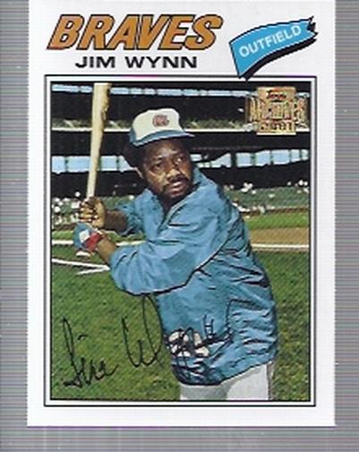2001 Topps Archives #117 Jim Wynn 77
