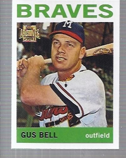 2001 Topps Archives #119 Gus Bell 64