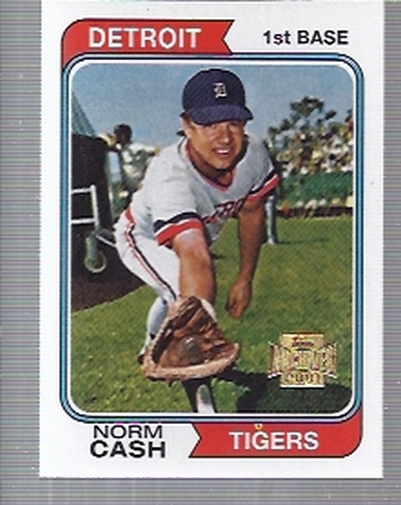 2001 Topps Archives #136 Norm Cash 74