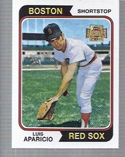 2001 Topps Archives #168 Luis Aparicio 74