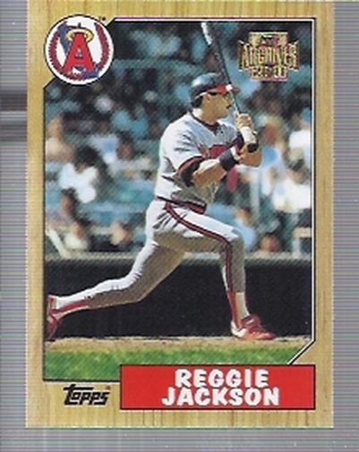 2001 Topps Archives #173 Reggie Jackson 87