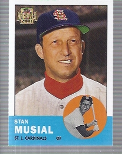 2001 Topps Archives #180 Stan Musial 63