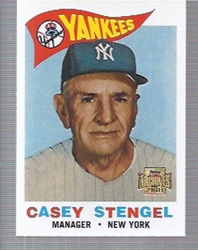 2001 Topps Archives #202 Casey Stengel MG 60