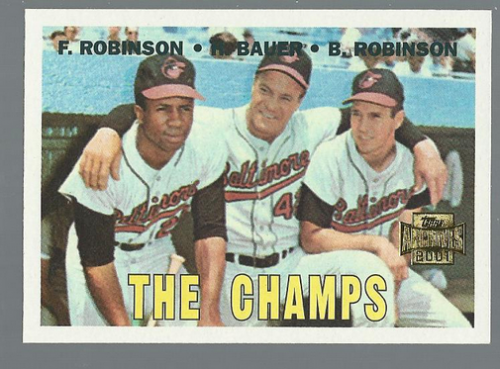 2001 Topps Archives #219 The Champs 67