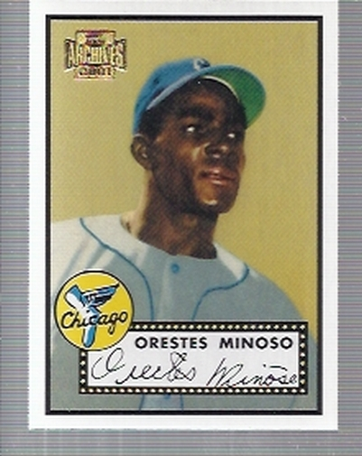 2001 Topps Archives #233 Minnie Minoso 52
