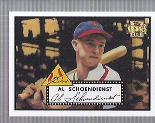 2001 Topps Archives #237 Red Schoendienst 52