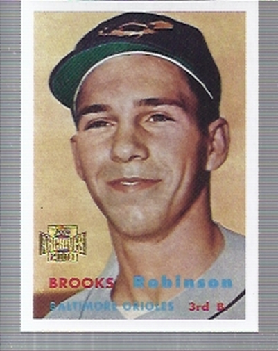 2001 Topps Archives #252 Brooks Robinson 57