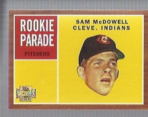2001 Topps Archives #263 Sam McDowell 62
