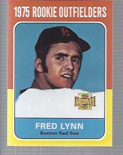 2001 Topps Archives #298 Fred Lynn 75
