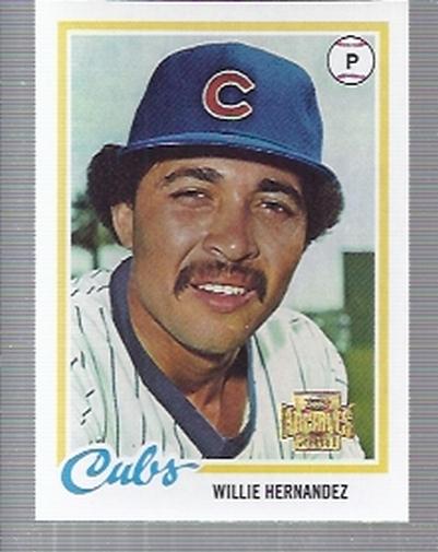 2001 Topps Archives #304 Willie Hernandez 78