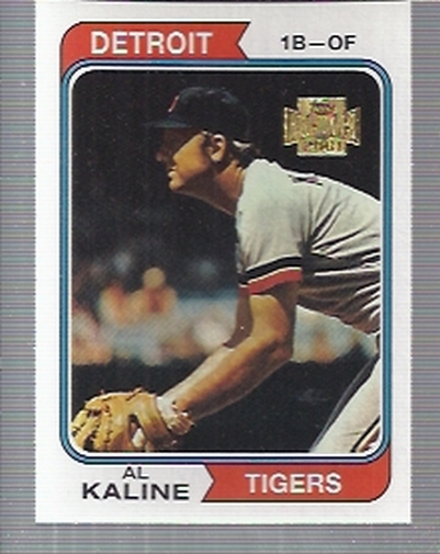 2001 Topps Archives #362 Al Kaline 74