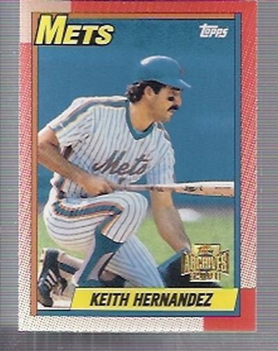 2001 Topps Archives #406 Keith Hernandez 90