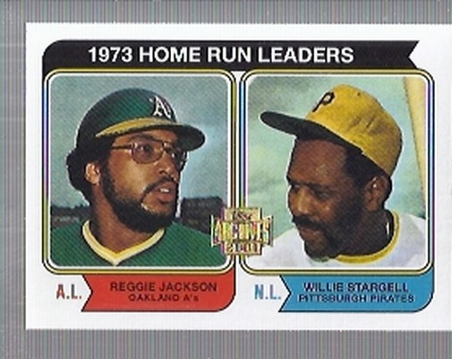 2001 Topps Archives #436 HR Leaders 74