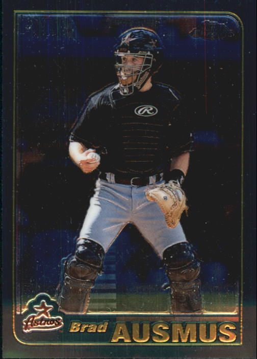 2001 Topps Chrome Traded #T3 Brad Ausmus