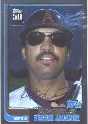 2001 Topps Chrome Traded #T104 Reggie Jackson 82