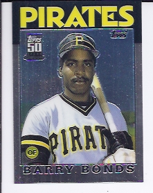 2001 Topps Chrome Traded #T114 Barry Bonds 86