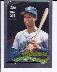 2001 Topps Chrome Traded #T132 Ken Griffey Jr. 89