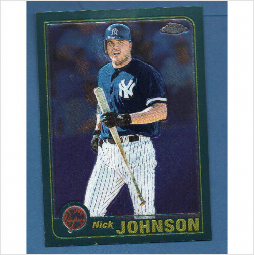 2001 Topps Chrome Traded #T178 Nick Johnson