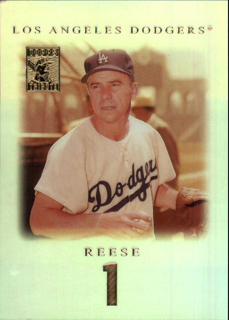 2001 Topps Tribute #1 Pee Wee Reese