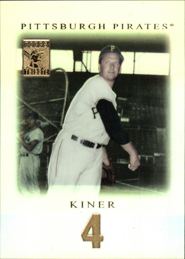 2001 Topps Tribute #3 Ralph Kiner
