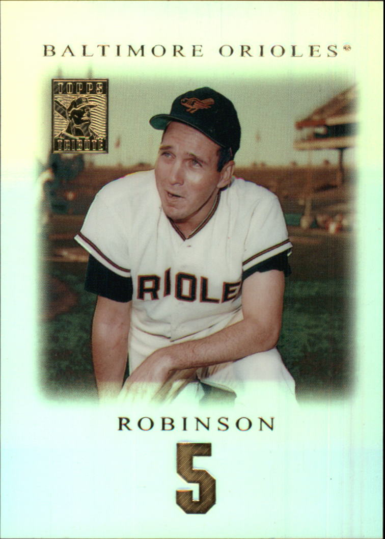 2001 Topps Tribute #4 Brooks Robinson