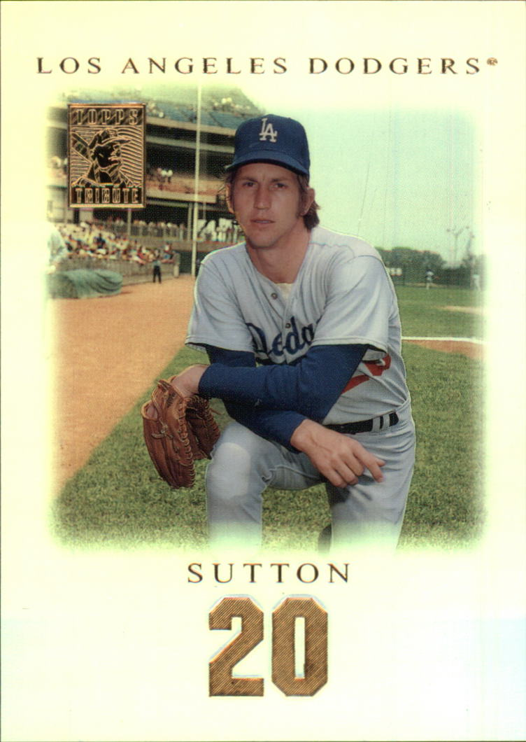 2001 Topps Tribute #5 Don Sutton