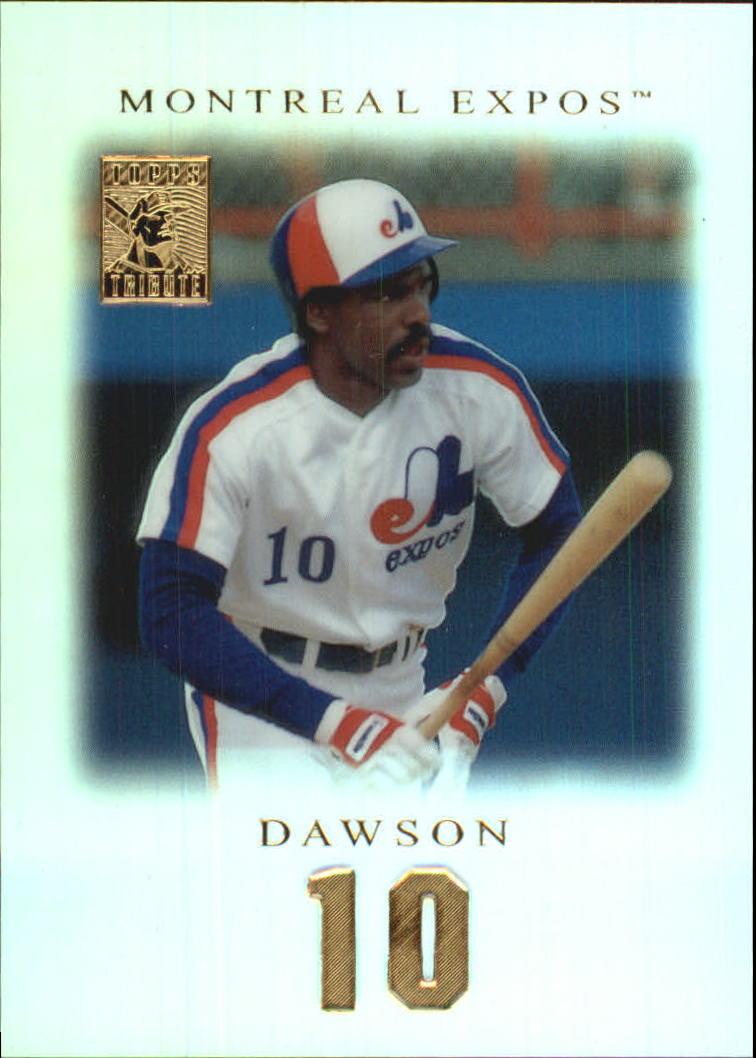2001 Topps Tribute #8 Andre Dawson