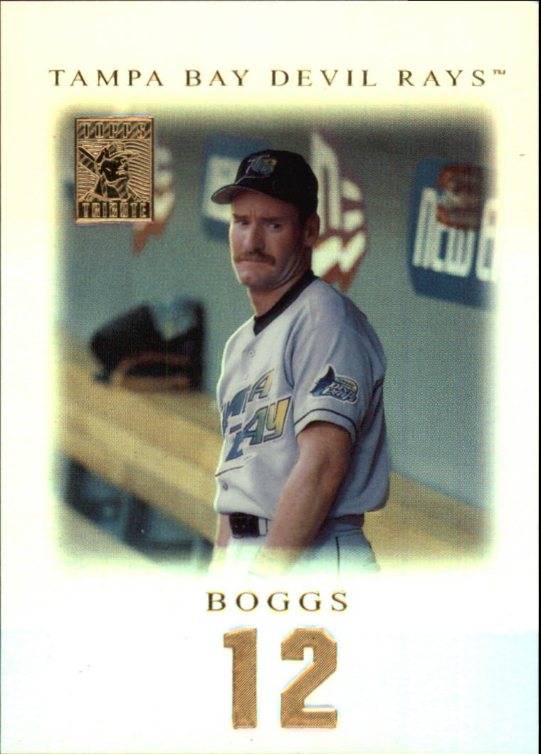2001 Topps Tribute #10 Wade Boggs