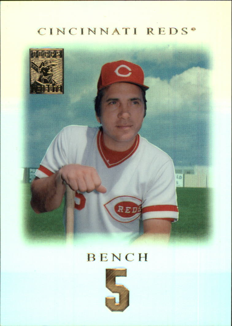 2001 Topps Tribute #11 Johnny Bench