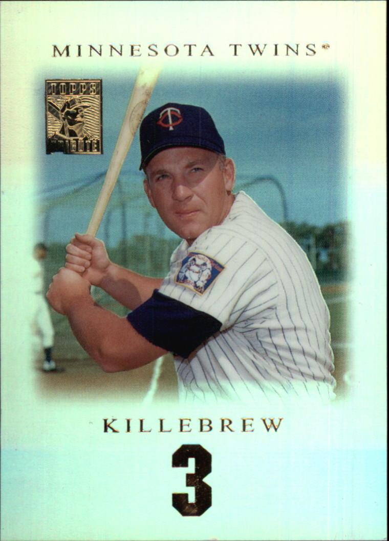 2001 Topps Tribute #14 Harmon Killebrew