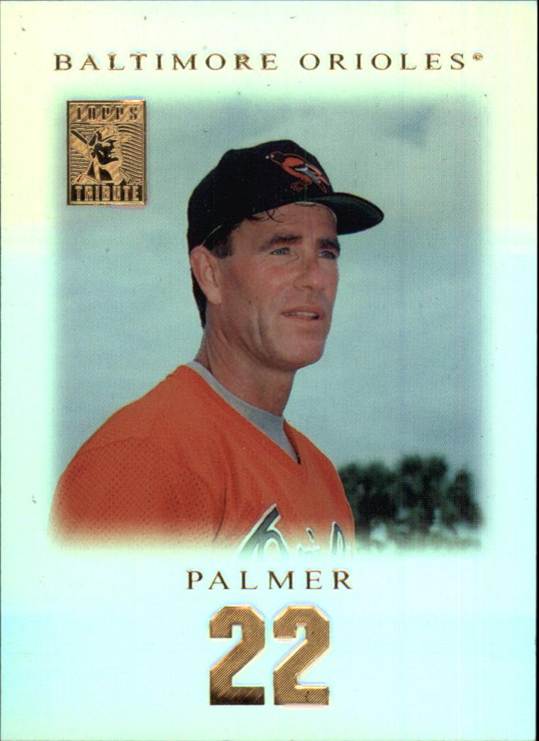 2001 Topps Tribute #19 Jim Palmer