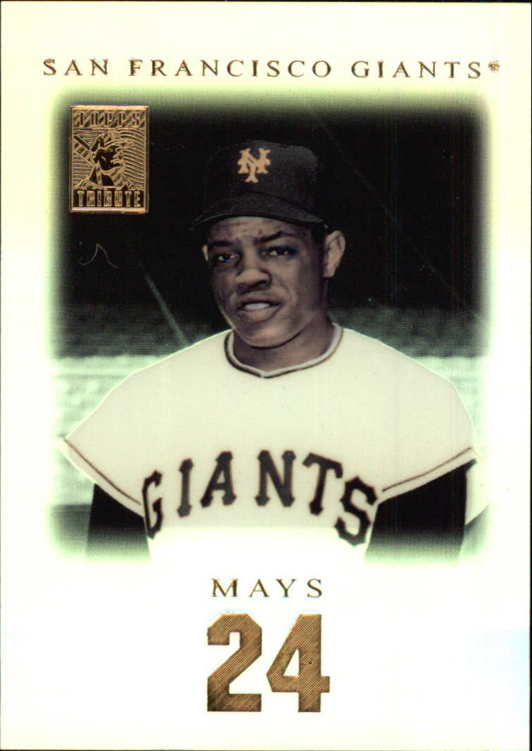 2001 Topps Tribute #21 Willie Mays
