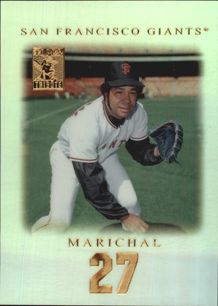 2001 Topps Tribute #23 Juan Marichal