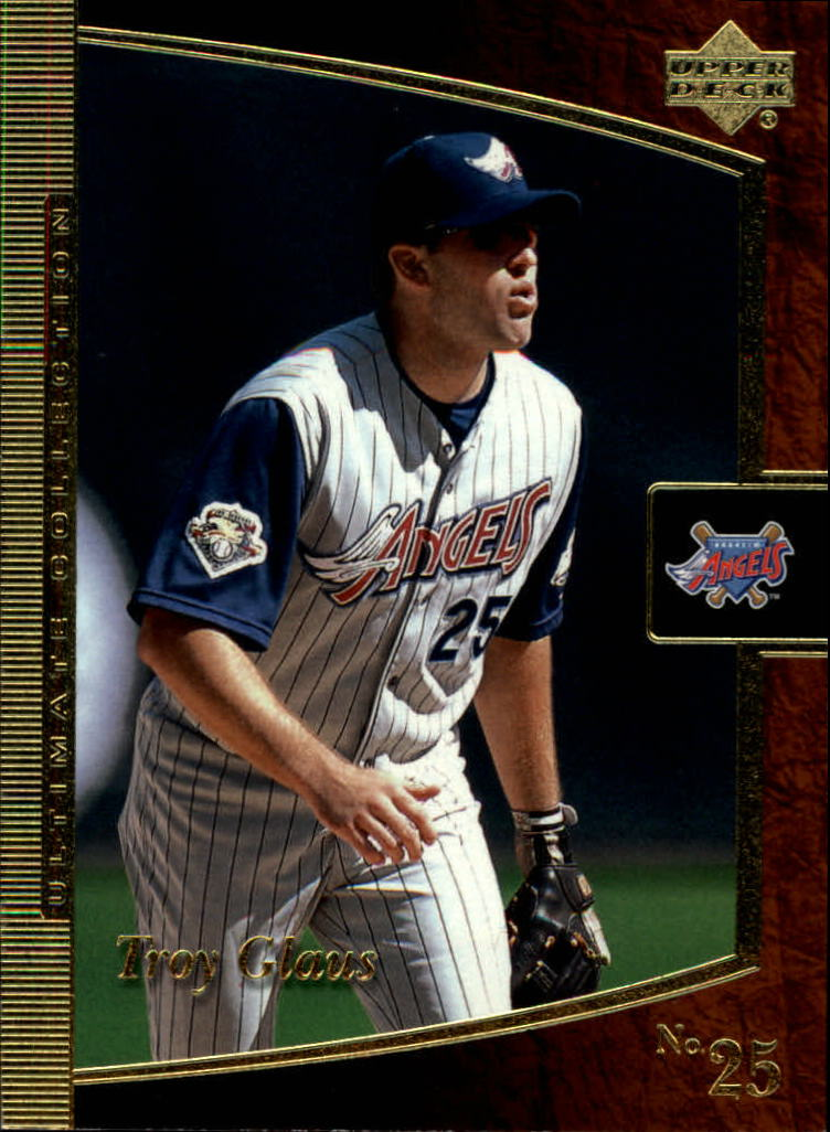 2001 Ultimate Collection #1 Troy Glaus