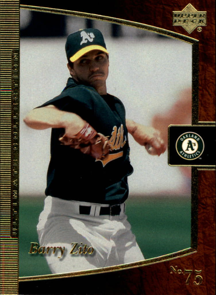 2001 Ultimate Collection #4 Barry Zito