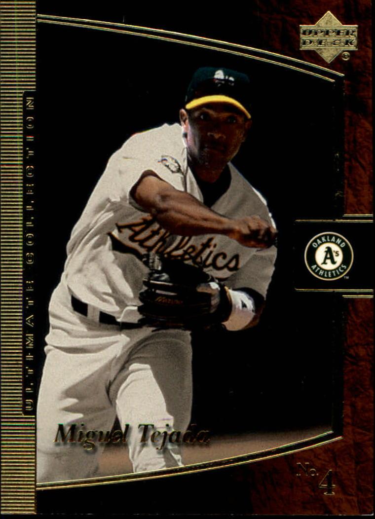 2001 Ultimate Collection #6 Miguel Tejada